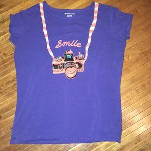 Smile Camera American Girl shirt